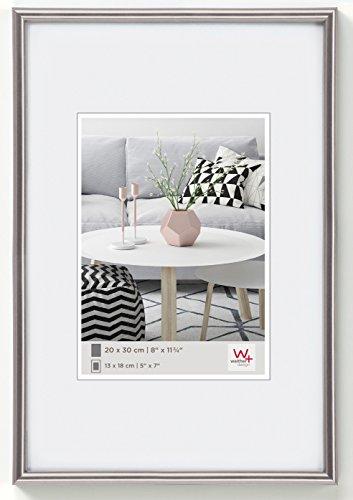 walther design KD460H Galeria Kunststoffrahmen im Format, 1 (40 x 60 cm), stahl