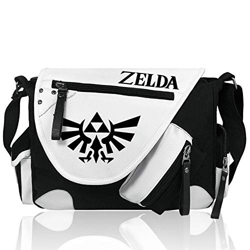 Pallima Bolso Bandolera Cosplay Satchel Bandolera Bandolera Escolar Bandolera Bolsa Crossbody The Legend of Zelda B