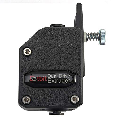 Estrusore BMG Trianglelab MK8 Cloned Dual Stick per Wanhao D9 Creality C R-10 Ender-3 Anet E10 free size Nero