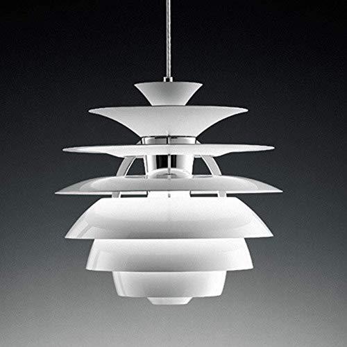 Nordic Minimalistischer Aluminium Kronleuchter PH Snowball Schneeball Kronleuchter Louis Poulsen Designer [Energieklasse A ++]
