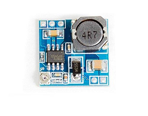 MissBirdler Micro Step-Down Spannungsregler Spannungswandler aus 4,75-24V Wird 1-15V für Arduino Raspberry Pi Prototyping