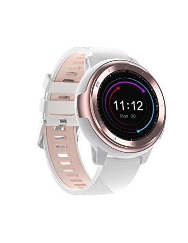 Roneberg RT68 Smartwatch für Damen mit Schrittzähler, perfekt für Frauen, die Wert auf Stil und Klasse in sportlichem Flair legen, 8 Sportmodi, Schrittzähler und Kalorienzähler, Messung der Entfernung