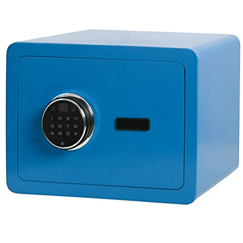 Lovndi Security Digital Safe Box, Biometric Safe Fingerprint Safes for Home Office, 13.8 x 9.8 x 9.8 inches, Blue