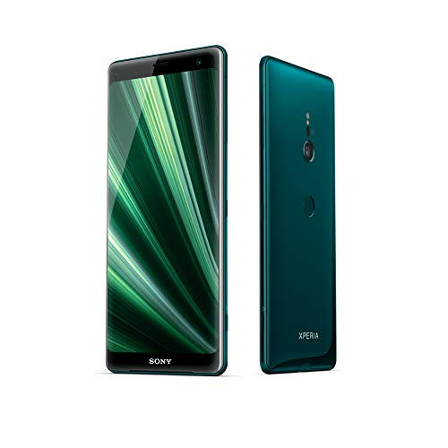 "Sony Xperia XZ3 - Smartphone mit 6 ""OLED-Display (64 GB interner Speicher, 4 GB RAM, Snapdragon 845, Android 9.0) + 64 GB Micro SD [Italien] - Forest Green"
