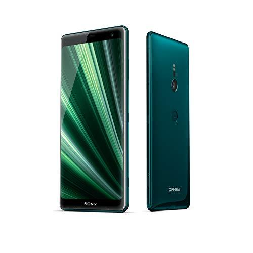 """Sony Xperia XZ3 - Smartphone con display OLED da 6"""" (64GB di memoria interna, 4GB RAM, Snapdragon 845, Android 9.0) + Micro SD da 64 GB [Italia] – Verde bosco"""