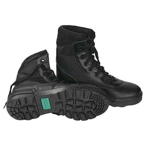 Anfibi Stivali Vantech Gutti Donna Uomo Leather Boot Militari dal 36 al 46 Unisex (Numeric_44)