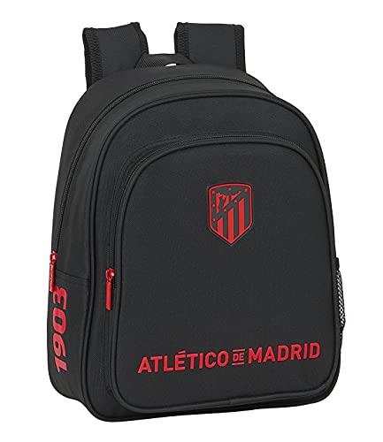 safta Mochila Escolar Infantil de Atlético de Madrid Corporativa, 270x100x330 mm
