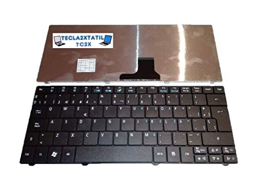 Teclado para Acer Aspire One AO722 EN ESPAÑOL Negro