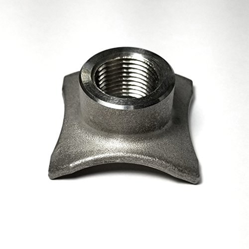 Stainless O2 Sensor Bung/Boss - Saddle Type - M18x1.5mm Thread Pitch - SS304 - Stainless Bros