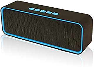 Oternal Wireless Bluetooth Speaker, Portable V4.2+EDR Stereo Speakers with Loud HD Audio and Rich Bass, 8-10 H Playtime, 3...