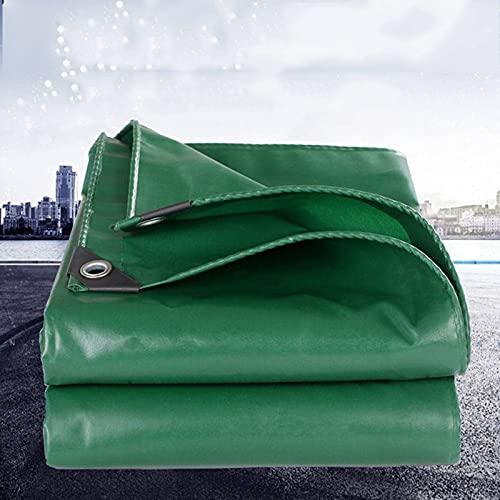 AGVER Lona Impermeable Exterior,Lona Impermeable Exterior con Ojales, Protección Solar Y Resistente A La Rotura para Muebles De Jardín, Camping, Madera,Protección contra UV,3m*3m