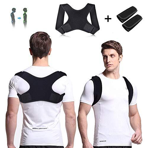 Faireach Haltungskorrektur Rücken für Eine Aufrechteren Haltung, Verstellbare Geradehalter Rückenbandage für Damen und Herren, Professioneller Rückenstabilisator zur Rückenstütze Schmerzlinderung