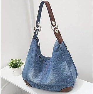 TMXOWB Handbags Large Women Bag Big Hobo Purses Ladies Hand bags Jean Shopper Tote Luxury Designer Crossbody Messenger Bag