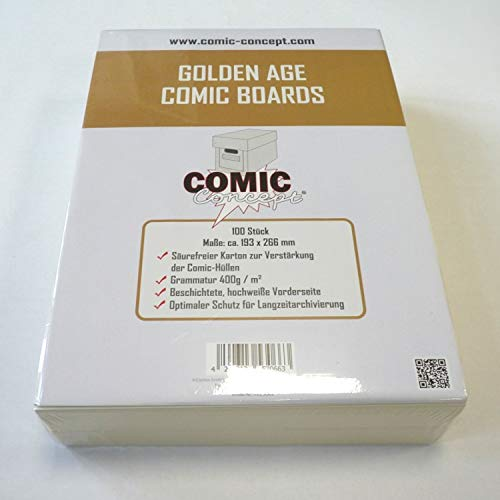 Unbekannt Comic Concept Golden Age Comic Boards (193x266mm)