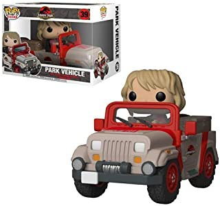 Funko Pop! Rides: Jurassic Park - Park Vehicle