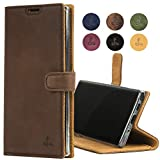 Samsung Galaxy Note 10 Plus Case, Genuine Leather Wallet Viewing...