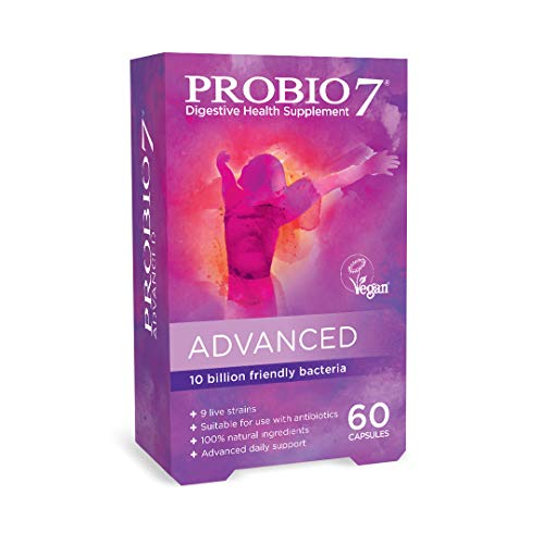 Probio7 Advanced | Vegan | 9 Live Strains | 10 Billion CFU + 2 Types of Fibre