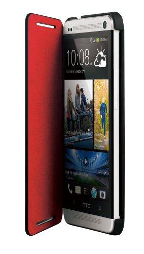 HTC HC V841 Double Dip Flip Klappcover One schwarz