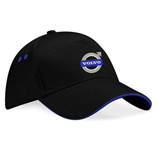 Volvo Gorras de béisbol Bordado súper una Primera Calidad - K-109 (sw-Blau)