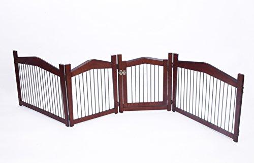 Merry Pet 2-in-1 Configurable Pet Crate and Gate, Medium