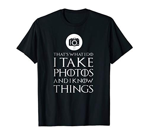 I Take Photos Funny Photographer T Shirt Gift