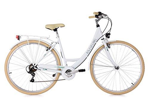 KS Cycling Damenfahrrad 28'' Toscana weiß RH48cm