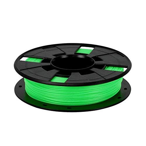 JKUNYU Green Abs 3D Printer Filament More Colors 1.75Mm Petg Filament 1.75Mm Optional Spool for 3D Printer plastic Rubber Consumables Carbon Fiber 3D Filament 0.2Kg