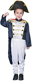 Historical Colonial General Costume Set For Kids By Dress up America