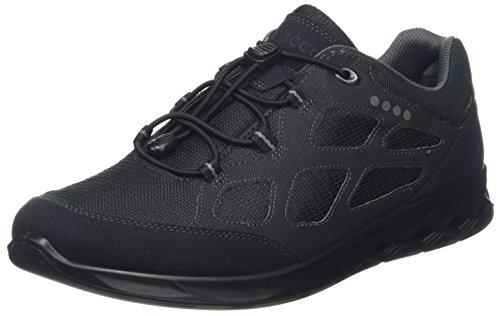 ECCO Wayfly, Chaussures de Randonnée Basses Homme, Noir (Black), 44 EU