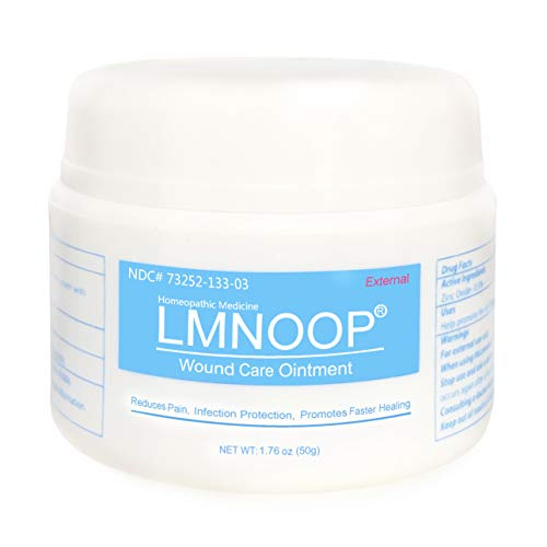 Wound Care Bed Sore Cream, Max Strength Skin Healing Paste Treatment for Pressure Sores Diabetic Venous Ulcers Burns Cuts Scrapes, Antibacterial Skin Repair Ointment by LMNOOP
