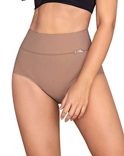 Leonisa slimming high waisted compression tummy control underwear for women Beige