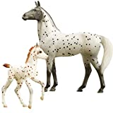 Breyer Freedom Series (Classics) Spotted Wonders | Horse and Foal Toy Set | 1:12 Scale | Model #62207
