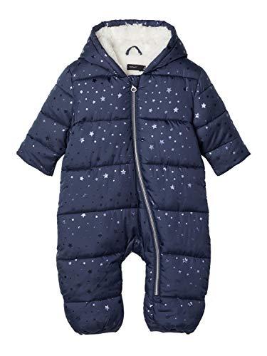 NAME IT Baby Mädchen Schneeoverall Wagenanzug NBFMELIESSA, Größe:74-80, Farbe:Dress Blues