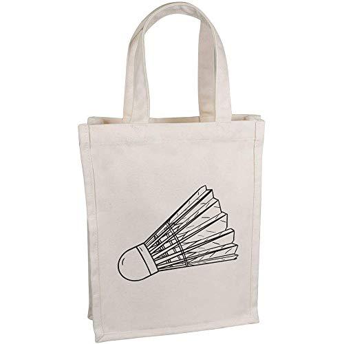 Azeeda \'Federball\' Kleine Premium Canvas Einkaufstasche (BG00047794)