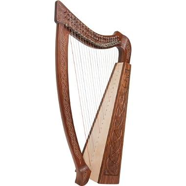 """Roosebeck Heather Harpâ"""" 22-String Eala Design"""