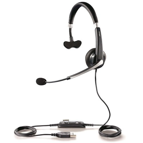 Jabra UC VOICE 550 MS Mono Lync Optimized Corded Headset for Softphone