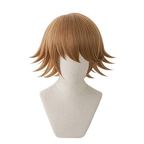 LBBZJM Halloween Perücke Chihiro Fujisaki Perücke Danganronpa Perücke Spiel Cosplay Haar Synthetische Hitzebeständige Frauen-Haar