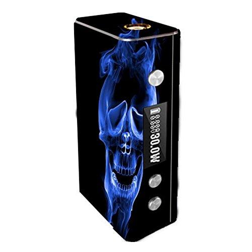 Cloupor Cana Mini 30W Vape E-Cig Mod Box Vinyl DECAL STICKER Skin Wrap / Smoke Skull