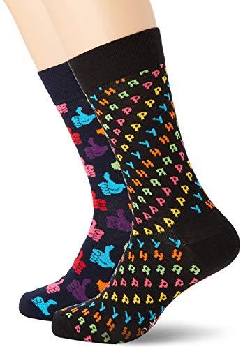 Happy Socks Herren Happy Gift Box Socken, Mehrfarbig (Multicolour 930), 7/10 (Herstellergröße: 41-46)