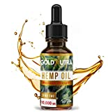 Premium Organic Hemp Oil 10,000 MG for Pain, Stress, Anxiety Relief | Relieves Inflammation, Insomnia, Arthritis | with Essential Fatty Acids | Made in USA