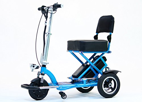 Triaxe Sport Foldable Scooter - Color Metallic Light Blue - 13