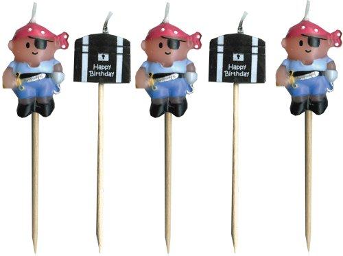 Piraten Mini-Kerzen