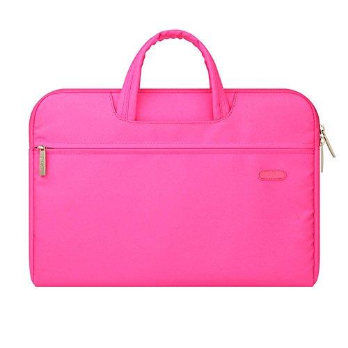 Gladiolus Laptophülle Laptoptasche Notebooktasche Mit stoßfest Reißverschluss Schutzhülle für Laptops/Ultrabooks Pink 15.6 Zoll