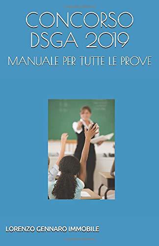 CONCORSO DSGA 2019: Manuale per tutte le prove