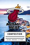Camping Planner Composition: Miami Heat Notebook American Basketball Notebook - Christmas, Thankgiving Gift Ideas #7