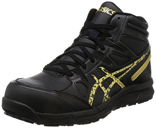 [アシックス] ワーキング 安全/作業靴 作業靴 ウィンジョブ CP105 ブラック/ゴールド 26.0 cm 3E