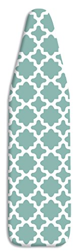 Whitmor Deluxe Replacement Ironing Board Cover and Pad - Concord Turquoise