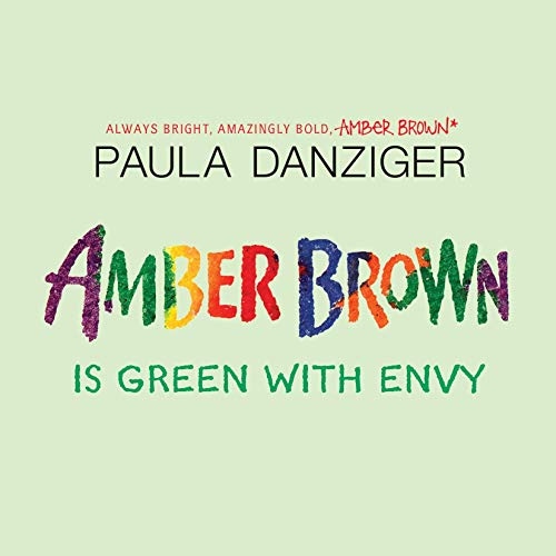 Amber Brown Is Green with Envy audiobook cover art
