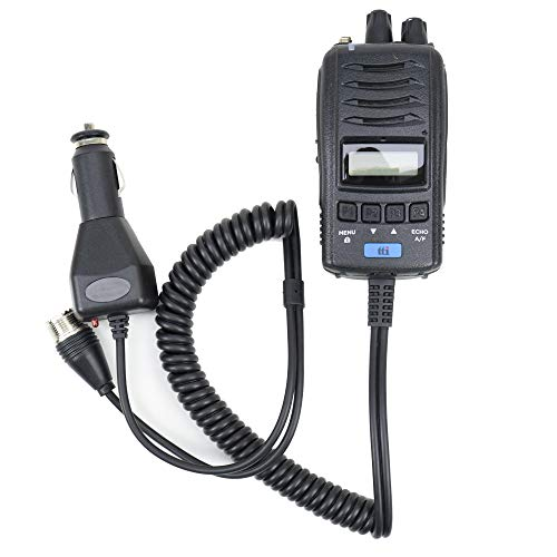 TTI Tragbares CB-Radio TCB-H100, 12V / 24V-Netzteil, Roger Beep, Squelch