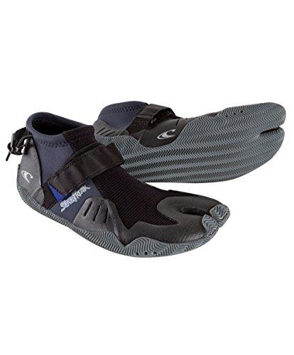 O 'Neill Wetsuits Mens Super Freak Tropical 2mm Split Toe Boot, Black, 12